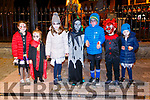 Kenmare Halloween Howl on Sunday night L-R: Niamh Rochford, Emer Lucey, Caroline Holland, Cian Lucey, Michael Holland, Sean Lucey and Rachel Holland