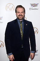 LOS ANGELES - JAN 20:  David Harbour at the Producers Guild Awards 2018 at the Beverly Hilton Hotel on January 20, 2018 in Beverly Hills, CA