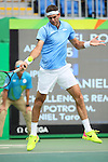 Juan Martin Del Potro (ARG), <br /> AUGUST 11, 2016 - Tennis : <br /> Men's Singles Third Round <br /> at Olympic Tennis Centre <br /> during the Rio 2016 Olympic Games in Rio de Janeiro, Brazil. <br /> (Photo by Koji Aoki/AFLO SPORT)