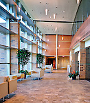 Interior of entrance and lobby of Kroc Center,Dayton OHio