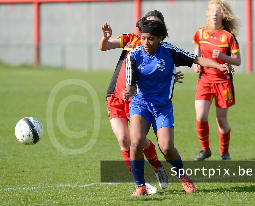 U 16 Belgian red Flames - virginia USA :<br /> <br /> Kyra Ricks<br /> <br /> foto Dirk Vuylsteke / Nikonpro.be