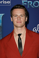 Hollywood, CA - NOV 07:  Jonathan Groff attends the world premiere of Disney's 'Frozen II' at the Dolby Theatre on November 7, 2019 in Los Angeles CA.   <br /> CAP/MPI/IS<br /> ©IS/MPI/Capital Pictures