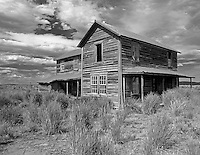 Abandoned homestead. The Shirk Ranch. Near Adel, Oregon