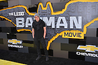 Chris McKay at the world premiere of &quot;The Lego Batman Movie&quot; at the Regency Village Theatre, Westwood, Los Angeles, USA 4th February  2017<br /> Picture: Paul Smith/Featureflash/SilverHub 0208 004 5359 sales@silverhubmedia.com