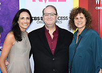 """07 August 2019 - Beverly Hills, California - Francie Calfo, Marc Cherry, Mindy Schultheis . CBS All Access' """"Why Women Kill"""" Los Angeles Premiere held at The Wallis Annenberg Center for the Performing Arts.  <br /> CAP/ADM/BB<br /> ©BB/ADM/Capital Pictures"""