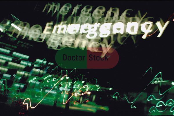 emergency sign at hospital