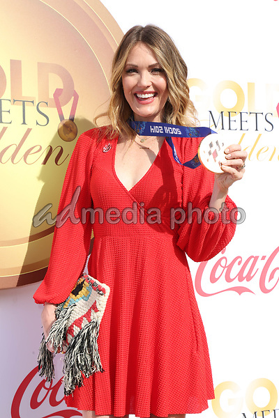 06 January 2018 - Los Angeles, California - Amy Purdy. 2018 Gold Meets Golden held at The Sunset House. Photo Credit: PMA/AdMedia