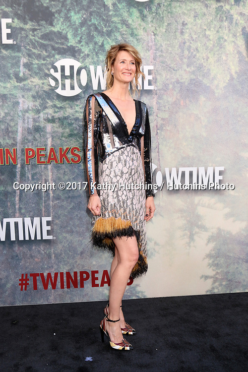"LOS ANGELES - MAY 19:  Laura Dern at the ""Twin Peaks"" Premiere Screening at The Theater at Ace Hotel on May 19, 2017 in Los Angeles, CA"