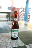 BELIZE, Hopkins, a local Belikin Beer