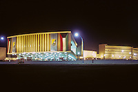 Kuwait December 1966.  University of Kuwait the Night before its Official Opening.  AN ADDITIONAL 100 HISTORIC IMAGES OF KUWAIT MADE BETWEEN 1966-1972 ARE AVAILABLE.  LET US KNOW WHAT YOU NEED.