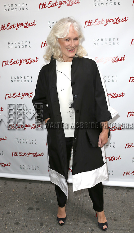 Glenn Close  attending the Broadway Opening Night Performance of 'I'll Eat You Last' at the Booth Theatre in New York City on 4/24/2013