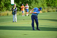Phil Mickelson (USA) hits his approach shot on 10 during round 1 of the Shell Houston Open, Golf Club of Houston, Houston, Texas, USA. 3/30/2017.<br /> Picture: Golffile | Ken Murray<br /> <br /> <br /> All photo usage must carry mandatory copyright credit (&copy; Golffile | Ken Murray)