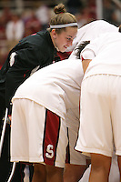 19 March 2007: J.J. Hones during Stanford's 68-61 second round loss to Florida State in the NCAA women's basketball tournament at Maples Pavilion in Stanford, CA.