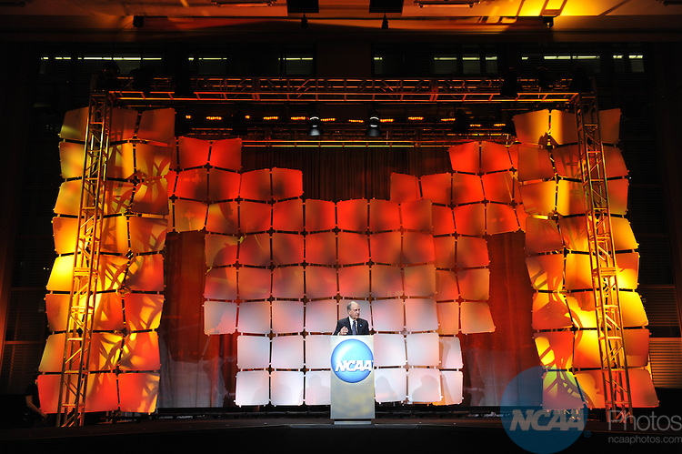 14 JAN 2010: Honorees and guests participate in the 2010 NCAA Honors Celebration at the 2010 NCAA Convention held at the Marriott Marquis and the Hyatt Regency in Atlanta, GA. Stephen Nowland/NCAA Photos.Pictured: Senator George J Mitchell.