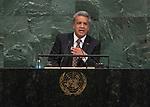 72 General Debate &ndash; 20 September <br /> <br /> by His Excellency Lenin Moreno Garc&eacute;s, Constitutional President of the Republic of Ecuador