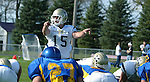 Trevor Roberts quarterback for SD Tech calls out signals in the second  quarter of their game against Dakota State University Saturday, October 20, 2007 in Madison, SD. (photo by Ty Carlson/Inertia)
