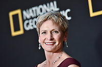 "NEW YORK CITY - MARCH 14: Astronaut Peggy Whitson attends National Geographic's ""One Strange Rock"" screening and Q&A at Alice Tully Hall at Lincoln Center on March 14, 2018 in New York City. (Photo by Anthony Behar/NatGeo/PictureGroup)"