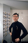 Tom Courtenay portrait London 1979, at the start of the west end production at the Queens Theatre of Ronald  Harwood's new play The Dresser. 1970s UK.