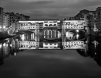 """The Glow of Ponte Vecchio""<br />