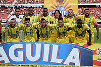 CÚCUTA - COLOMBIA, 17-02-2019: Los jugadores de Atlético Bucaramanga, posan para una foto antes de partido entre Cúcuta Deportivo y Atlético Bucaramanga, de la fecha 5 por la Liga Aguila I-2019, jugado en el estadio General Santander de la ciudad de Cúcuta. / The players of Atletico Bucaramanga pose for a photo prior a match between Cucuta Deportivo and Atletico Bucaramanga, of the 5th date for the Liga Aguila I 2019 at the General Santander Stadium in Cucuta city Photo: VizzorImage / Manuel Hernández / Cont.