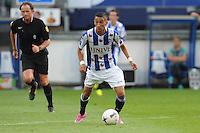 VOETBAL: HEERENVEEN: Abe Lenstra stadion 09-08-2014, SC Heerenveen - FC Dordrecht uitslag 1-2, Hakim Ziyech, ©foto Martin de Jong