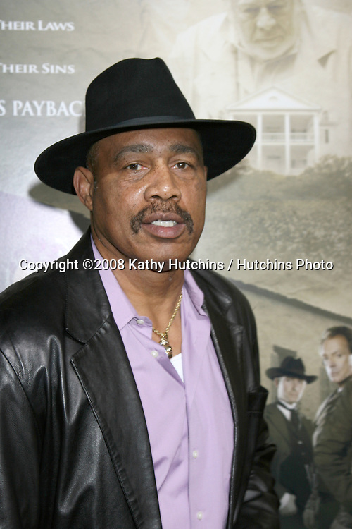 "Ken Norton.""The Man Who Came Back"" Premiere.Aero Theater.Santa Monica, CA.February 8, 2008.©2008 Kathy Hutchins / Hutchins Photo...."
