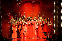 www.acepixs.com<br /> February 9, 2017  New York City<br /> <br /> Celebrity models on the runway at the American Heart Association's Go Red For Women Red Dress Collection 2017 presented by Macy's at Fashion Week at Hammerstein Ballroom on February 9, 2017 in New York City.<br /> <br /> Credit: Kristin Callahan/ACE Pictures<br /> <br /> <br /> Tel: 646 769 0430<br /> Email: info@acepixs.com