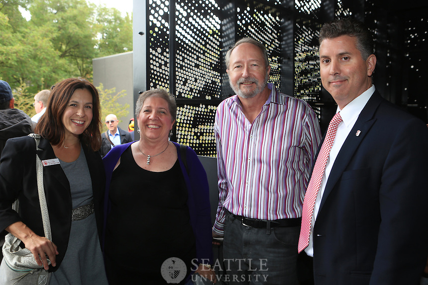 September 1st 2016- The Seattle University community gathered for the ribbon cutting ceremony marking the completion of the Connolly Complex renovation and unveiling of the new Porter Pavilion.