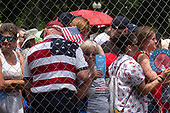 People wait in line to attend United States President Donald J. Trump's Salute to America at the Lincoln Memorial in Washington D.C. on July 4, 2019.<br /> <br /> Credit: Stefani Reynolds / CNP