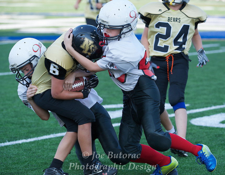 North Langley Bears vs Mission 9 e'rs Pee Wee Golden Helmet Tournament