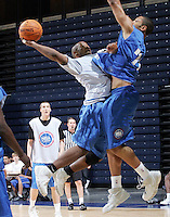 PG Tommy Mason-Griffin (Houston, TX / Madison) shoots the ball during the NBA Top 100 Camp held Thursday June 21, 2007 at the John Paul Jones arena in Charlottesville, Va. (Photo/Andrew Shurtleff)
