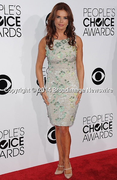 Pictured: Roma Downey<br /> Mandatory Credit &copy; Gilbert Flores /Broadimage<br /> 2014 People's Choice Awards <br /> <br /> 1/8/14, Los Angeles, California, United States of America<br /> Reference: 010814_GFLA_BDG_303<br /> <br /> Broadimage Newswire<br /> Los Angeles 1+  (310) 301-1027<br /> New York      1+  (646) 827-9134<br /> sales@broadimage.com<br /> http://www.broadimage.com