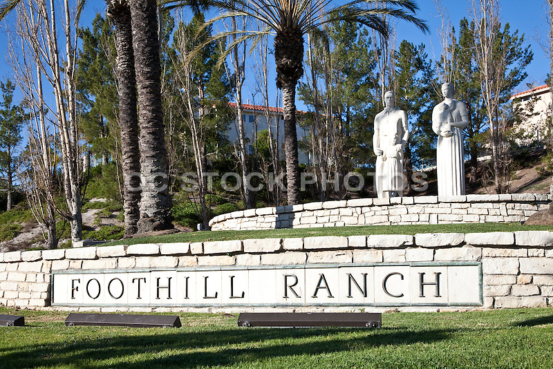 Foothill Ranch Family Sculptures
