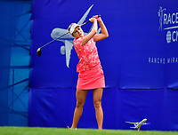 Lexi Thompson, of the United States, plays her shot from the first tee during the third round of the ANA Inspiration at the Mission Hills Country Club in Palm Desert, California, USA. 3/31/18.<br /> <br /> Picture: Golffile | Bruce Sherwood<br /> <br /> <br /> All photo usage must carry mandatory copyright credit (&copy; Golffile | Bruce Sherwood)during the second round of the ANA Inspiration at the Mission Hills Country Club in Palm Desert, California, USA. 3/31/18.<br /> <br /> Picture: Golffile | Bruce Sherwood<br /> <br /> <br /> All photo usage must carry mandatory copyright credit (&copy; Golffile | Bruce Sherwood)