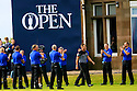 Henrick Stenson of Sweden at the trophy presentation after the final round of the 145th Open Championship played at Royal Troon, Ayrshire, Scotland. 14 - 17 July 2016 (Picture Credit / Phil Inglis)