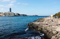 Sliema Costa di Malta, Mar Mediterraneo.19/11/2012 Malta.Foto Marine Andrieux / Panoramic / Insidefoto.ITALY ONLY
