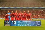 KASHIMA ANTLERS (JPN) - Tianjin Quanjian FC (CHN) AFC Champions League Quarter Finals at the Kashima Soccer Stadium , Kashima , on  28 Aug, 2018 in IBARAKI , Japan<br /> Photo by Kenta Harada /Agence SHOT