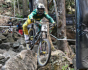 7th September 2017, Smithfield Forest, Cairns, Australia; UCI Mountain Bike World Championships; Troy Brosnan (AUS) from team Canyon Factory Racing DH during downhill practice
