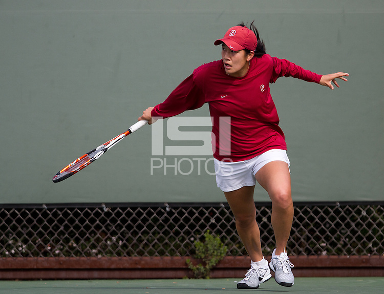 STANFORD, CA - February 25, 2011:  Jennifer Yen during Stanford's 7-0 victory over Oregon at Stanford, California on February 25, 2011.