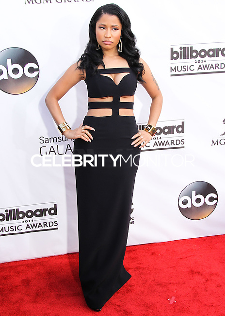 LAS VEGAS, NV, USA - MAY 18: Nicki Minaj at the Billboard Music Awards 2014 held at the MGM Grand Garden Arena on May 18, 2014 in Las Vegas, Nevada, United States. (Photo by Xavier Collin/Celebrity Monitor)
