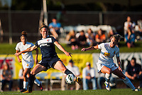 Sky Blue FC forward midfielder Sophie Schmidt (16). The Western New York Flash defeated Sky Blue FC 3-0 during a National Women's Soccer League (NWSL) match at Yurcak Field in Piscataway, NJ, on June 8, 2013.