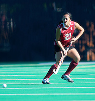 STANFORD, CA - November 4, 2011: Kasey Quon during the Stanford vs. Davidson in the second round of  the  NorPac Championship at the Varsity Turf on the Stanford campus Friday afternoon.<br /> <br /> Stanford defeated Davidson 7-2.