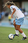 11 October 2007: North Carolina's Tobin Heath. The University of North Carolina Tar Heels defeated the Duke University Blue Devils 2-1 at Fetzer Field in Chapel Hill, North Carolina in an Atlantic Coast Conference NCAA Division I Women's Soccer game.