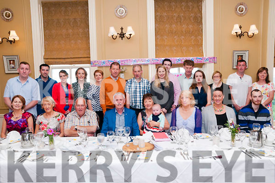 60th Birthday:Bernadett Casey, Derk, Knocknagoshel & Shannon celebrating her 60th birthday with family at the Listowel Arms Hotel on Sunday afternoonl last.