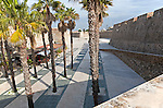 Muralla Real historic fortress Ceuta, Spanish territory in north Africa, Spain