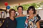 Liz Keifer - Jennifer Roszell - Michelle Ray Smith pose at the 2nd Annual Bauer Barbeque  with trivia contests, Family Feud contest, photos, autographs, Q & A on October 8, 2017 - a part of the Guiding Light Daytime Stars and Strikes for Autism weekend at the Residence Inn, Secaucus, New Jersey. (Photo by Sue Coflin/Max Photo)