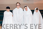 Mercy Mounthawk. World Record Attempt for as many ghosts in the one place in aid of Kerry Arthritis group on Friday. Pictured  Jacob Boulding, Hugh Everson, Diana Mendez and Matis Blifis