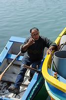 Fischer in Marsaxlokk, Malta, Europa