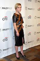 "Tina Majorino<br /> at PALEYFEST Presents: ""Veronica Mars,"" Dolby Theater, Hollywood, CA 03-13-14<br /> David Edwards/DailyCeleb.com 818-249-4998"
