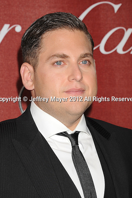 PALM SPRINGS, CA - JANUARY 07: Jonah Hill arrives at the 2012 Palm Springs Film Festival Awards Gala at the Palm Springs Convention Center on January 7, 2012 in Palm Springs, California.